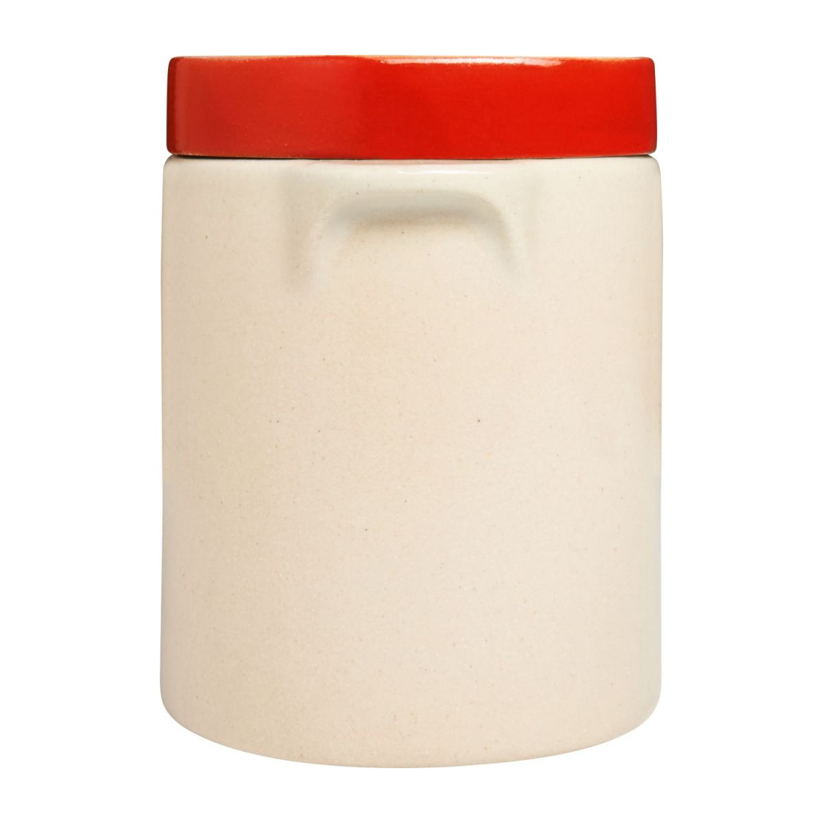 Box made in sandstone - 0,5L, natural and red n°5