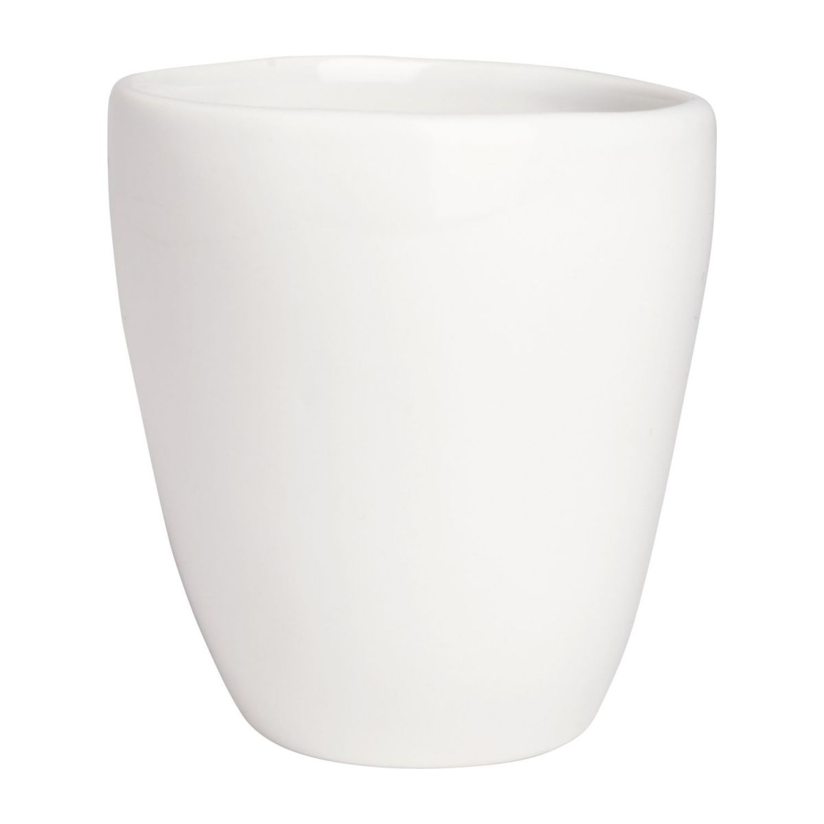 Coffee cup in porcelain, white n°1