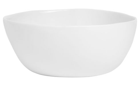 Bowl in porcelain 15.5cm, white