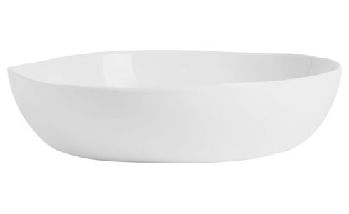 Bowl in porcelain 22cm, white