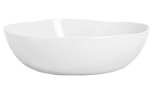 Salad Bowl in porcelain 30cm, white