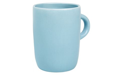 Mug in porcelain, blue