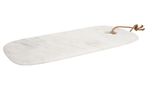 Serving dish in marble 35cm