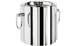 Glace bucket in stainless steel
