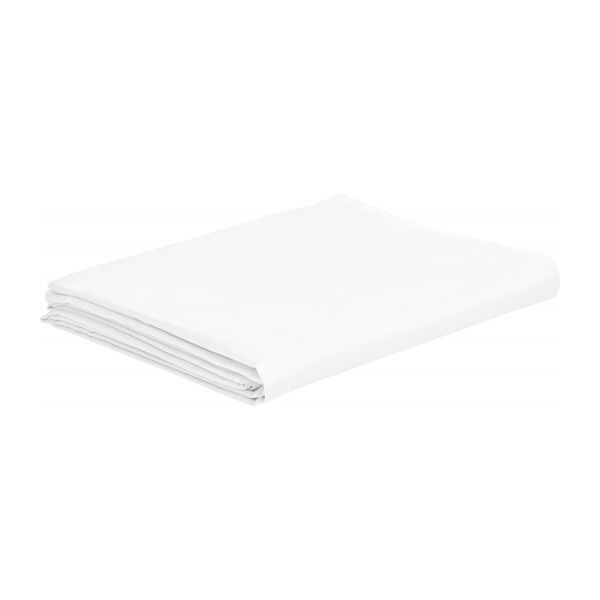 Flat sheet 240x300 made in cotton, white