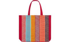 Shopping bag 38x40cm, multicolored
