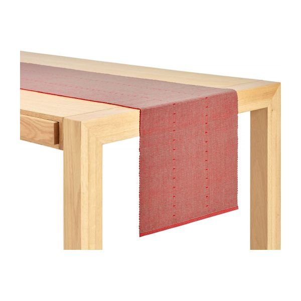 hector chemin de table 40x200 rouge habitat. Black Bedroom Furniture Sets. Home Design Ideas