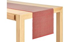 Chemin de table 40x200 rouge