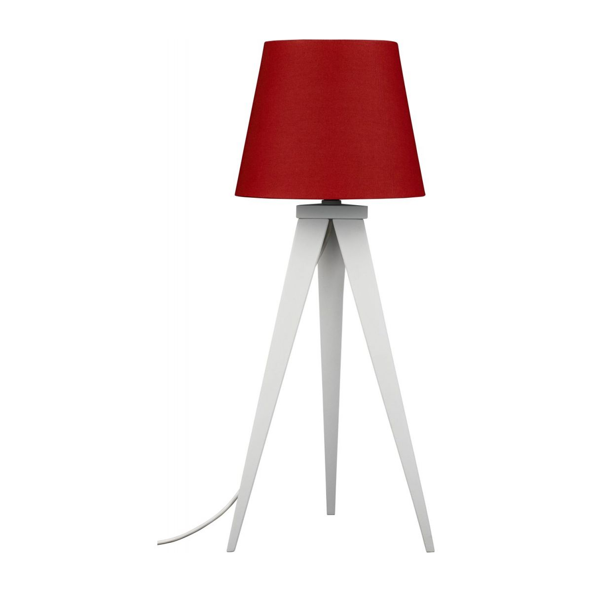 Red lampshade n°3