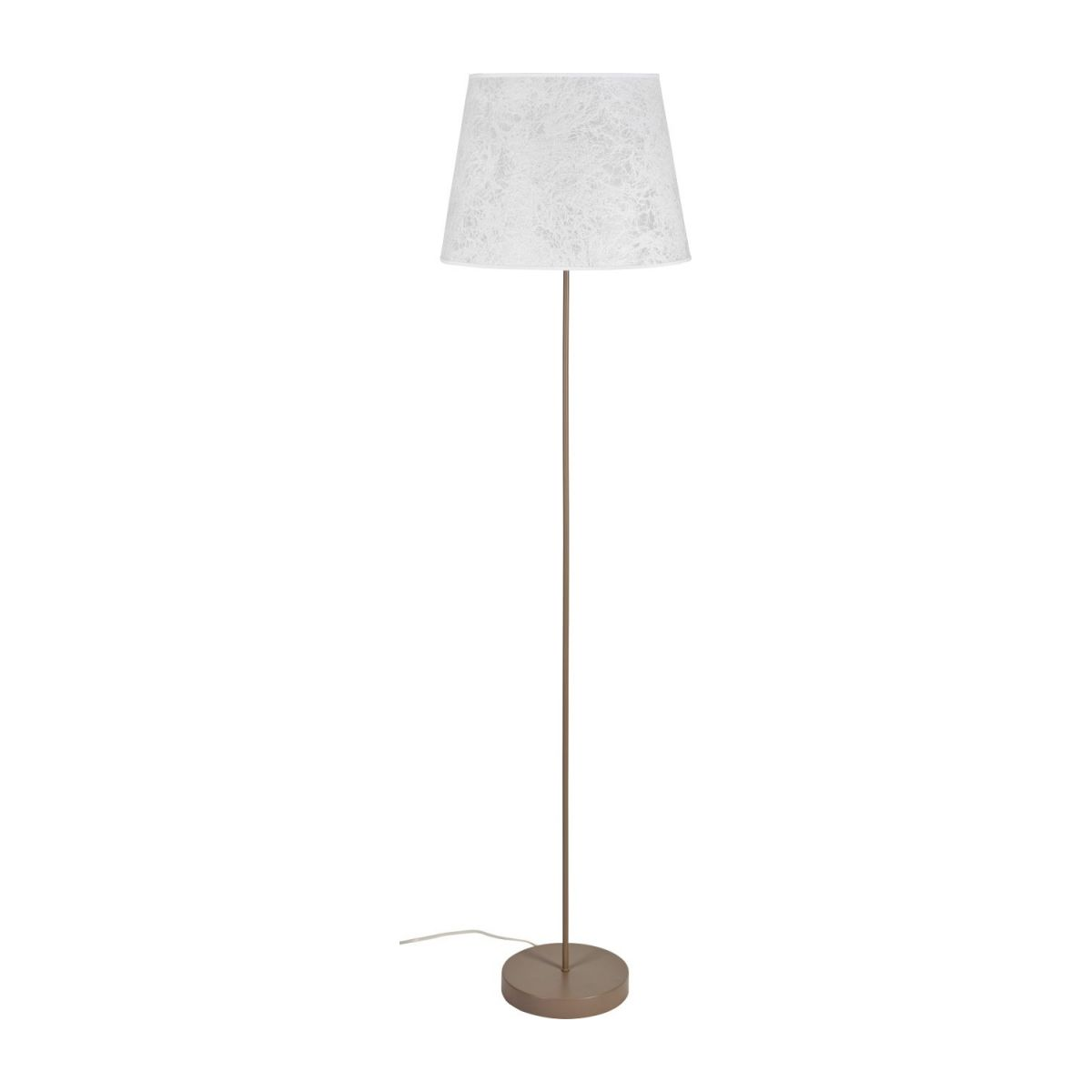Floor lamp base made of metal, grey n°2