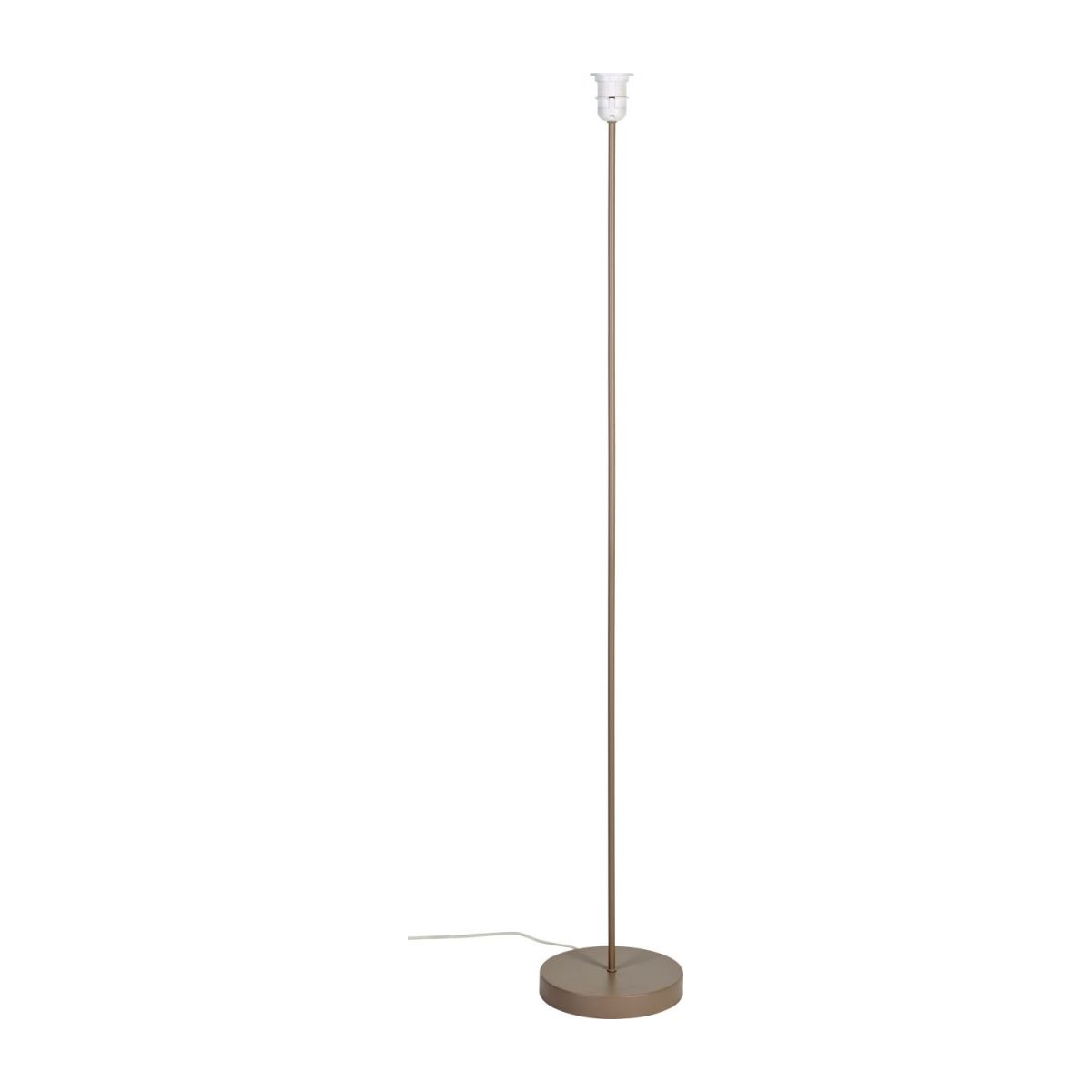Floor lamp base made of metal, grey n°1