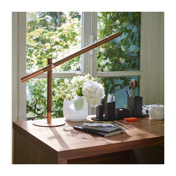 POISE/DESK LAMP COPPER AND WOO n°5