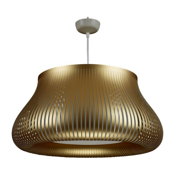 Ilios ceiling lamp in pvc golden habitat ceiling lamp in pvc golden n1 mozeypictures Gallery