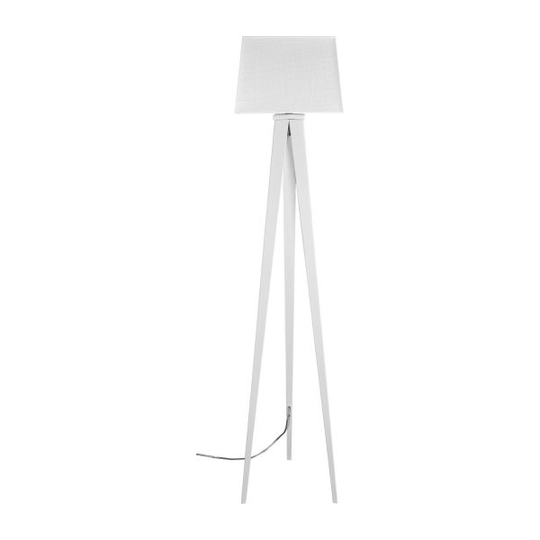 Yves floor lamp base made of metal white habitat floor lamp base made of metal white n2 aloadofball Image collections