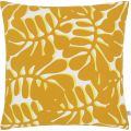 Cushion 45x45 with yellow patterns