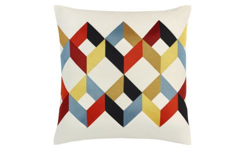 Cushion 50x50 , with multicolored patterns