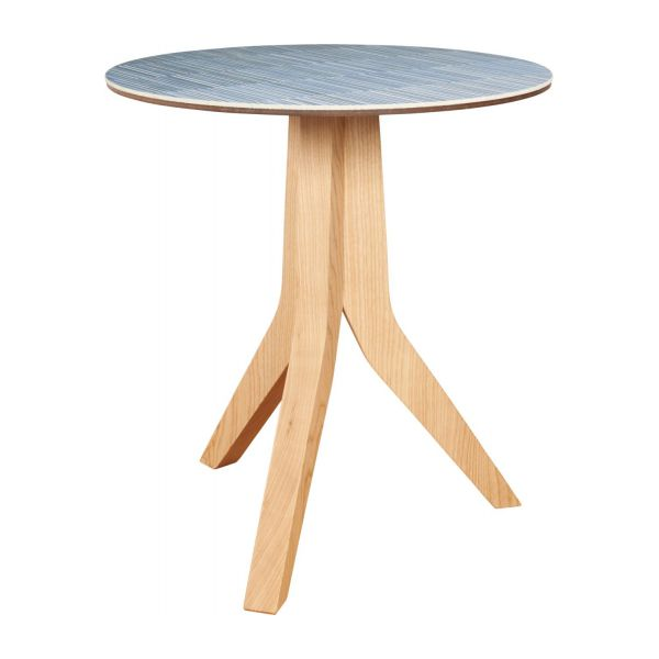 Mica table d 39 appoint en c ramique et fr ne habitat - Table ceramique italie ...
