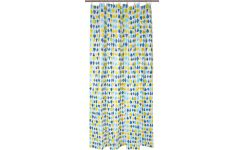 Shower curtain 200x180, blue