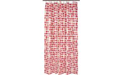 Shower curtain 200x180, red