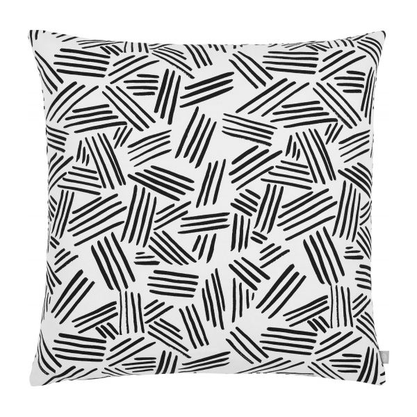 Cushion réversible 45x45, black and white n°2