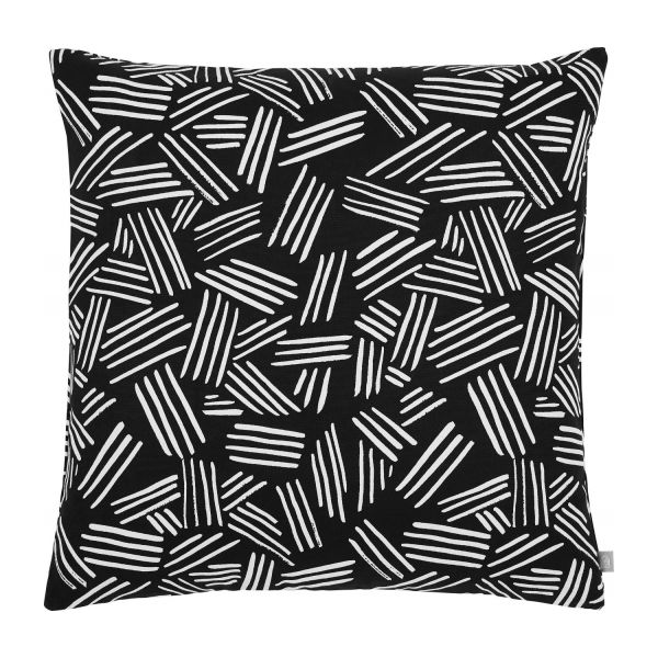 Cushion réversible 45x45, black and white n°1