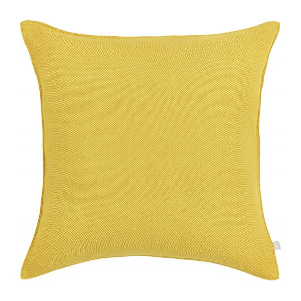 capucine coussin 50x50 en coton jaune habitat. Black Bedroom Furniture Sets. Home Design Ideas