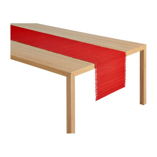 Celyan chemin de table 33x200 rouge habitat for Chemin de table rouge