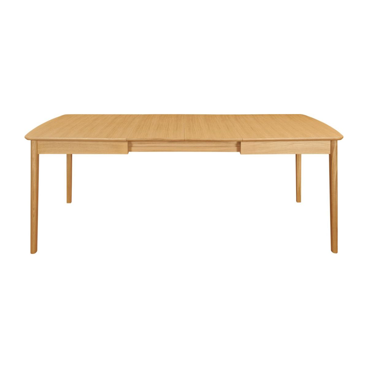 Extensible dining table made of ash n°5