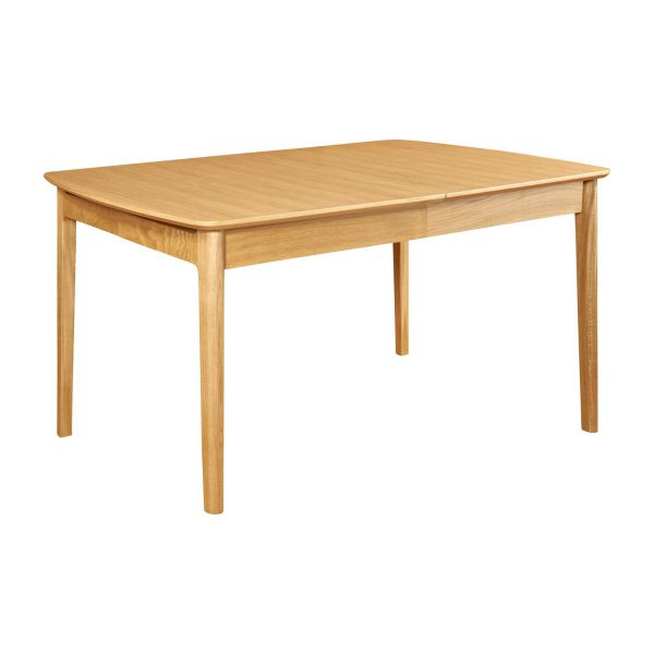 My mia extensible dining table made of ash habitat Table a manger rectangulaire extensible
