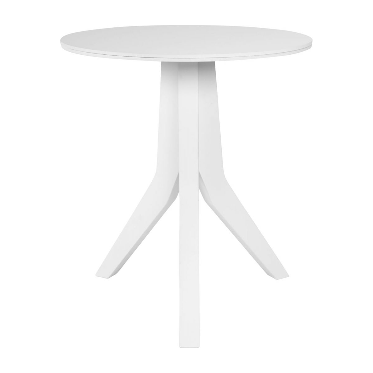 Table d'appoint en hêtre blanche n°2
