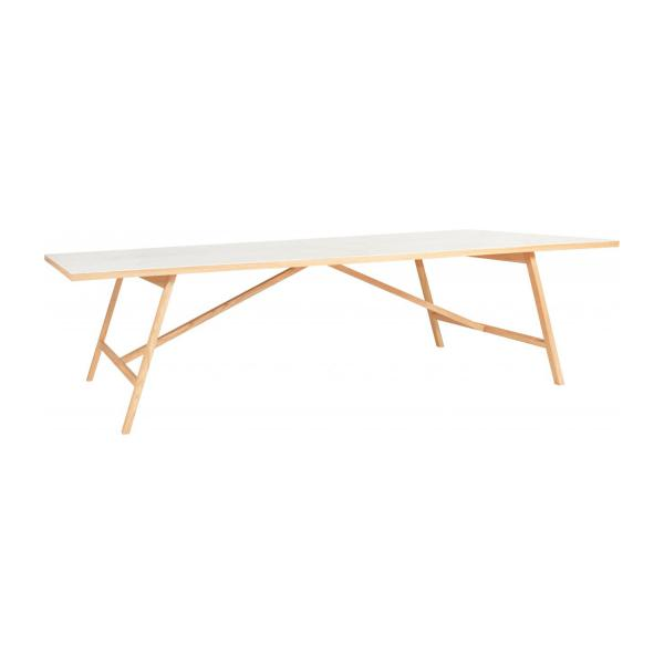 Inesse table en ch ne et c ramique italienne 240cm habitat - Table ceramique italie ...