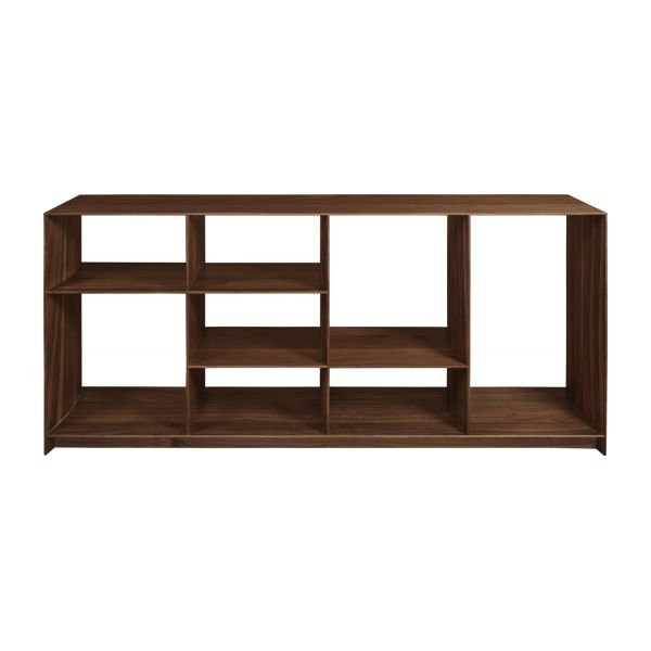 Low walnut tree shelf  n°3