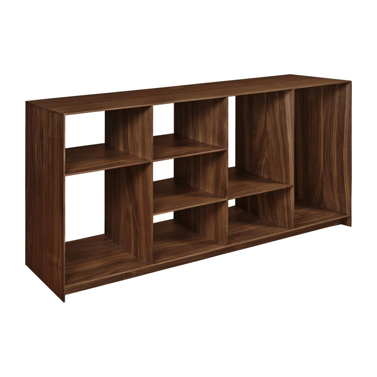 Low walnut tree shelf  n°1