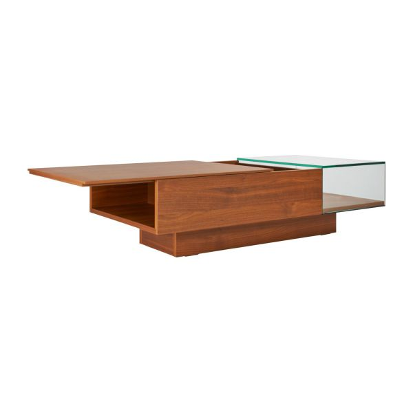 Coffee table in walnut tree n°2