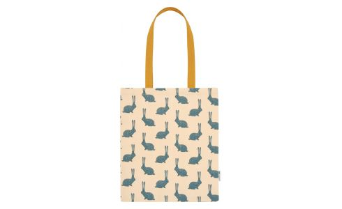 Shopping bag, bunny pattern