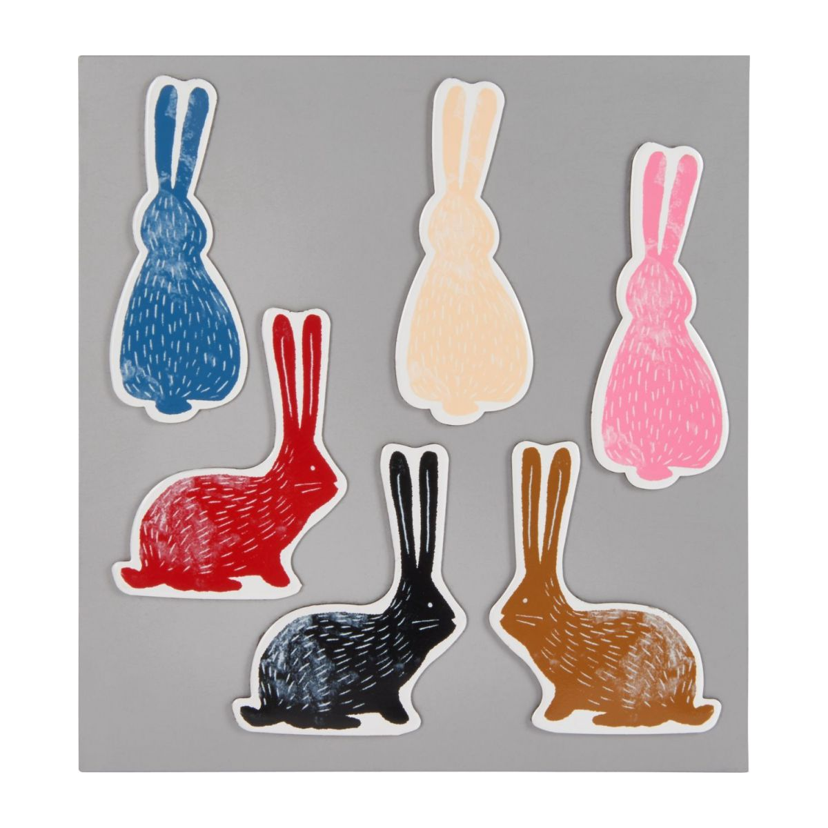 Bunny magnets n°1