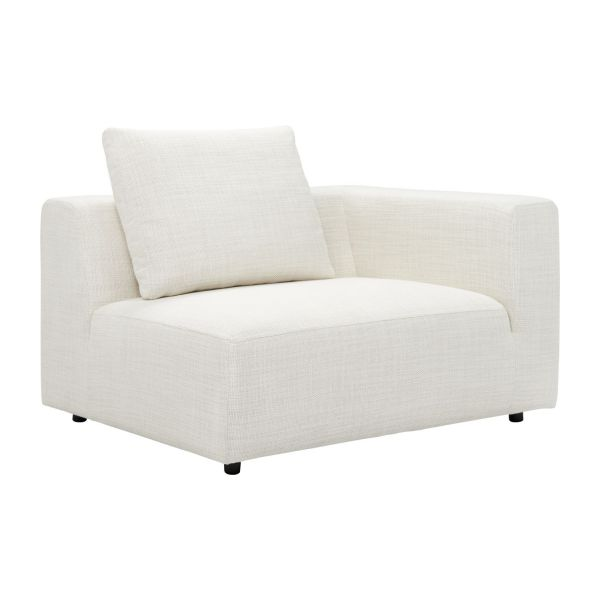 Ponta 1 5 seater sofa avec accoudoir droit in fasoli for Fabrica sofa cama 1 plaza