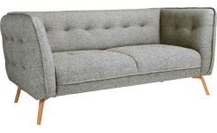 2 seat sofa in fabric, dark grey
