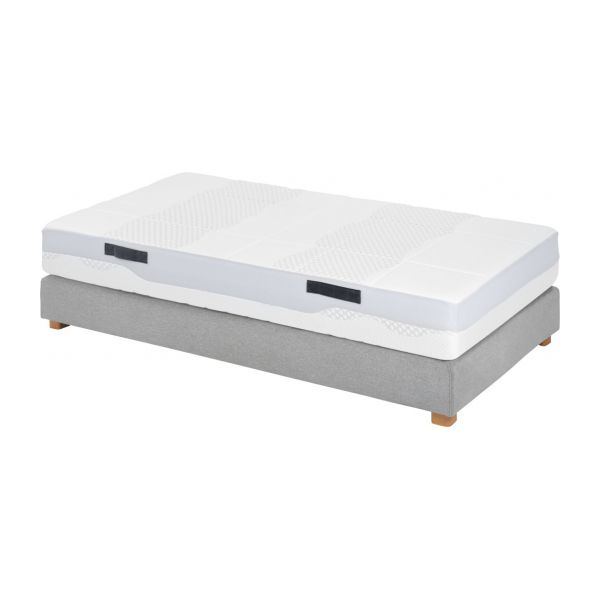 prestige mousse matelas en mousse paisseur 24 cm 90x200cm soutien m dium habitat. Black Bedroom Furniture Sets. Home Design Ideas