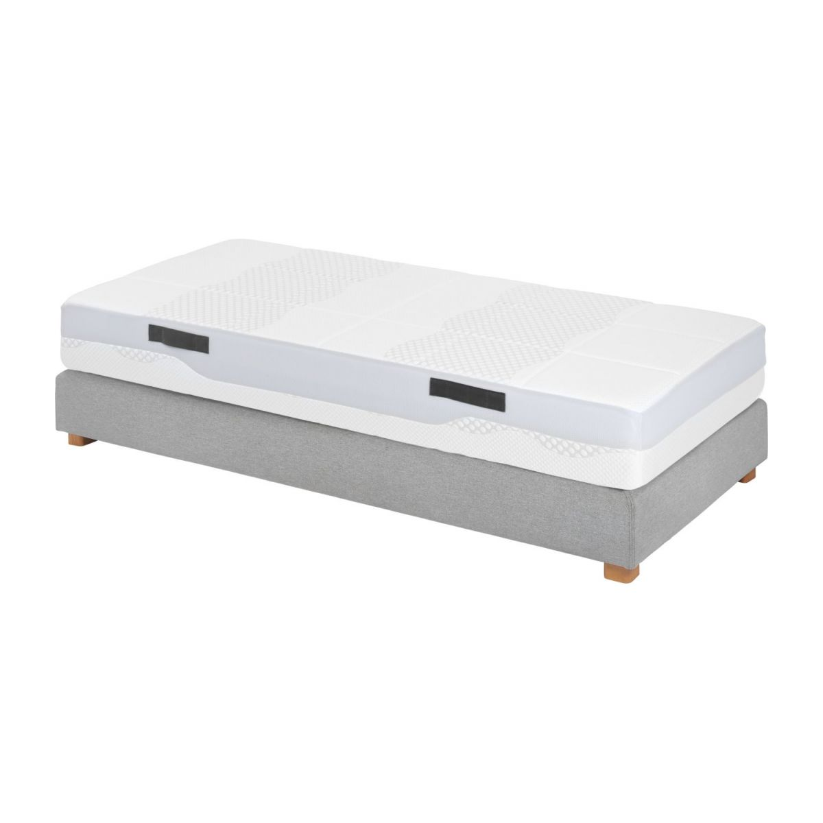 Foam mattress, width 24 cm, 90x200cm - firm support n°5