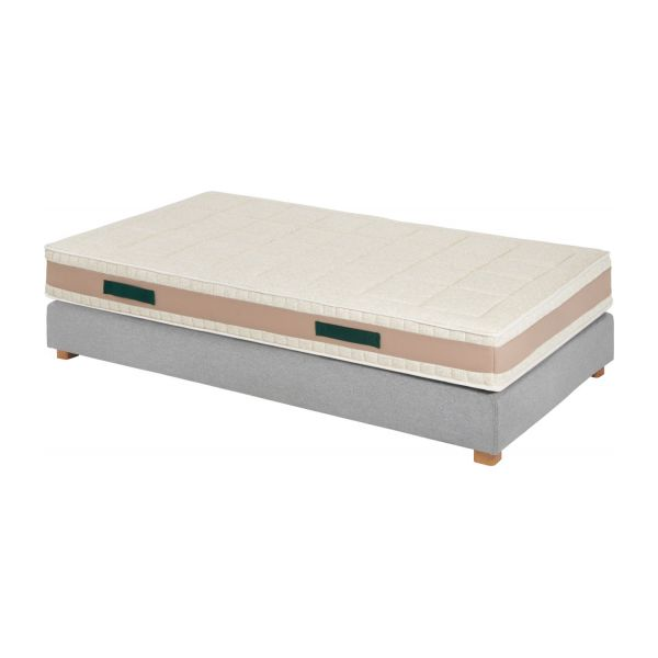 prestige latex matelas en latex paisseur 23 cm 90x200cm soutien ferme habitat. Black Bedroom Furniture Sets. Home Design Ideas