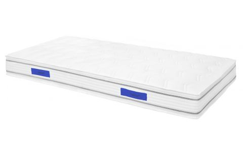 Spring mattress, width 21 cm, 90x200cm - medium support