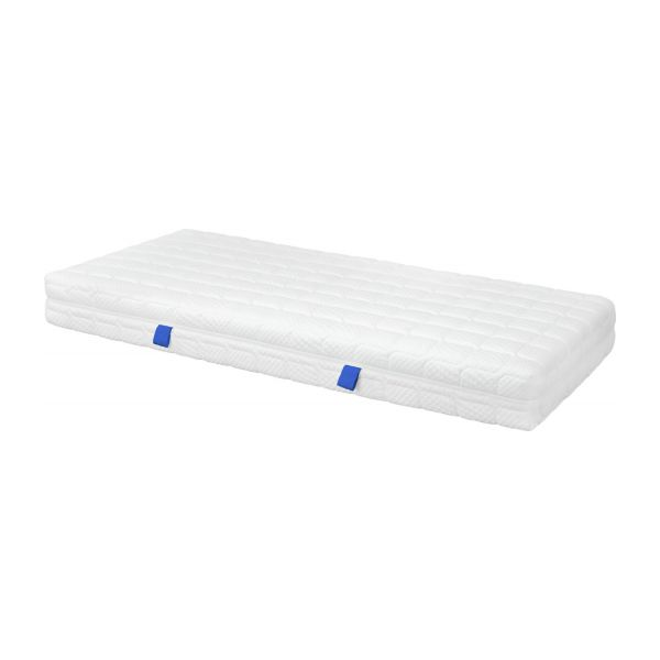 Spring mattress, width 22 cm, 90x200cm - medium support n°1