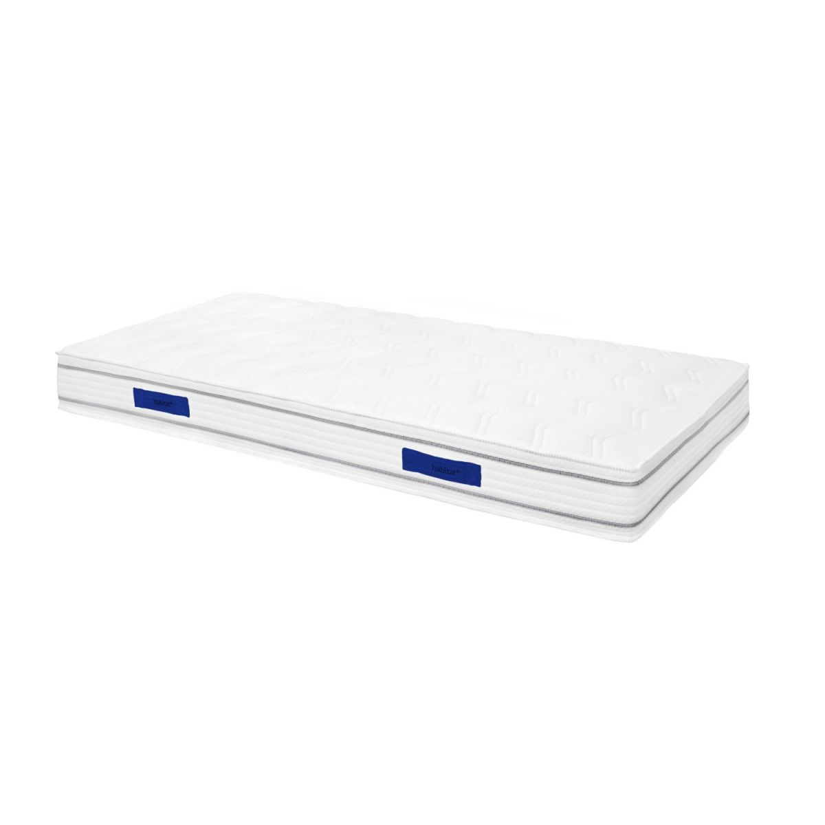 Spring mattress, width 21 cm, 80x200cm - firm support n°1