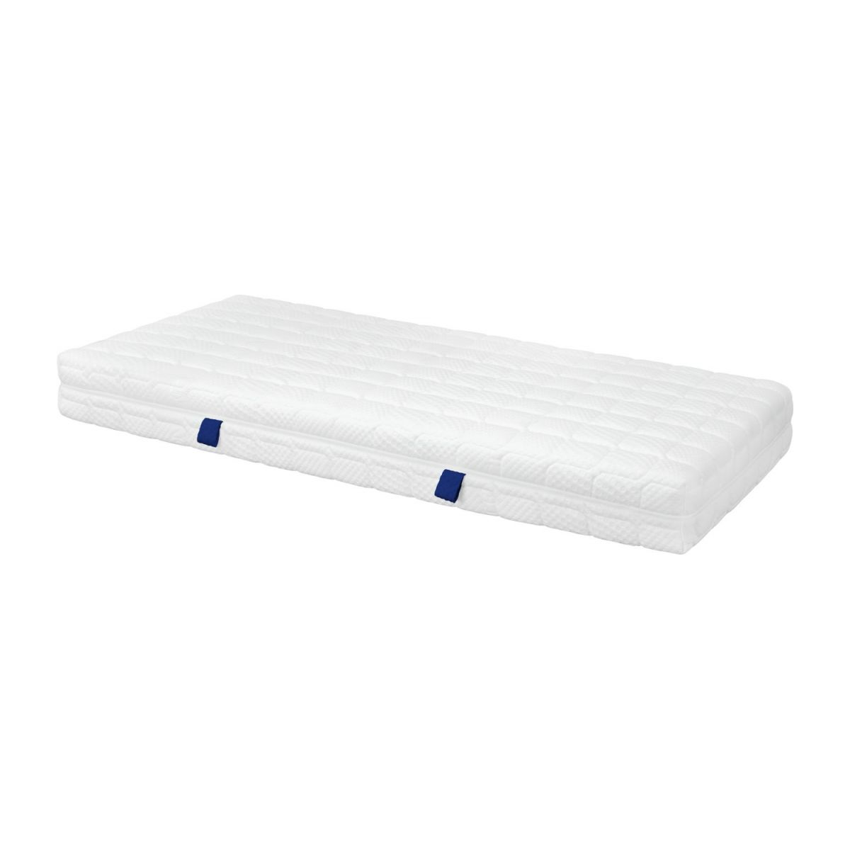 Spring mattress, width 22 cm, 80x200cm - firm support n°1