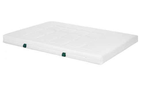 Matelas en latex, width 16 cm, 160x200cm - medium support