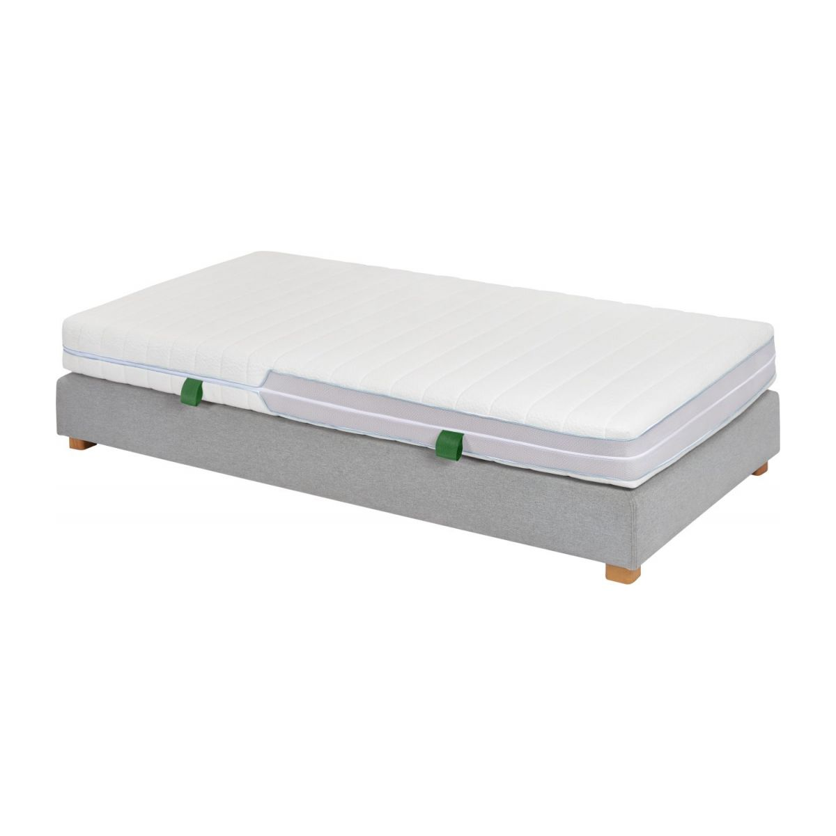 Matelas en latex, width 18 cm, 80x200cm - medium support n°5
