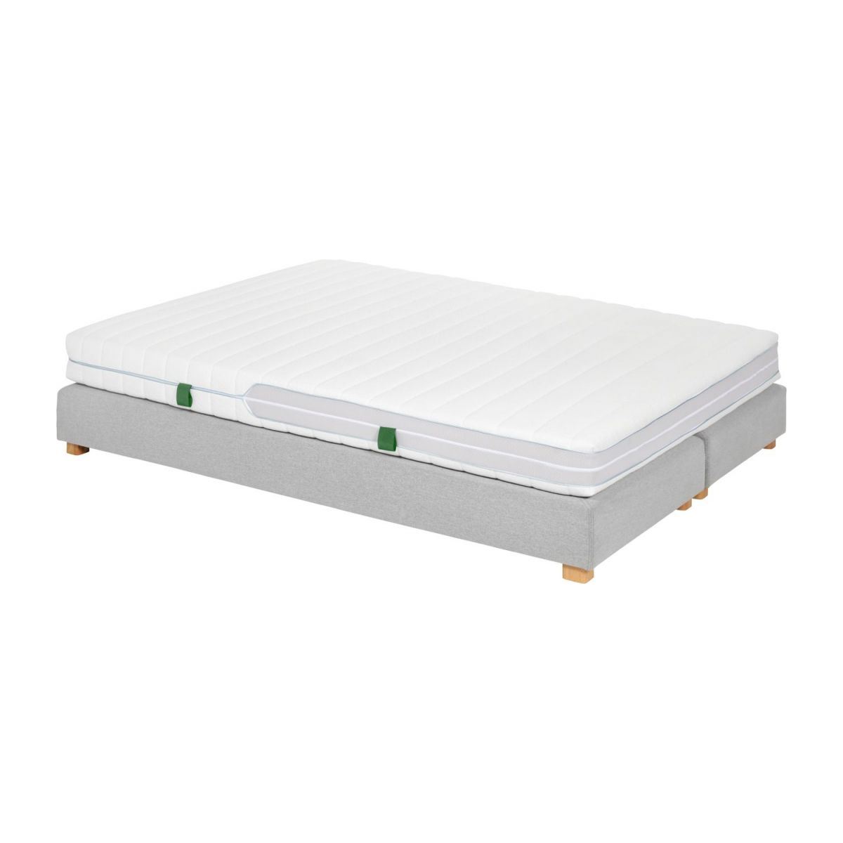 Matelas en latex, width 18 cm, 160x200cm - medium support n°5