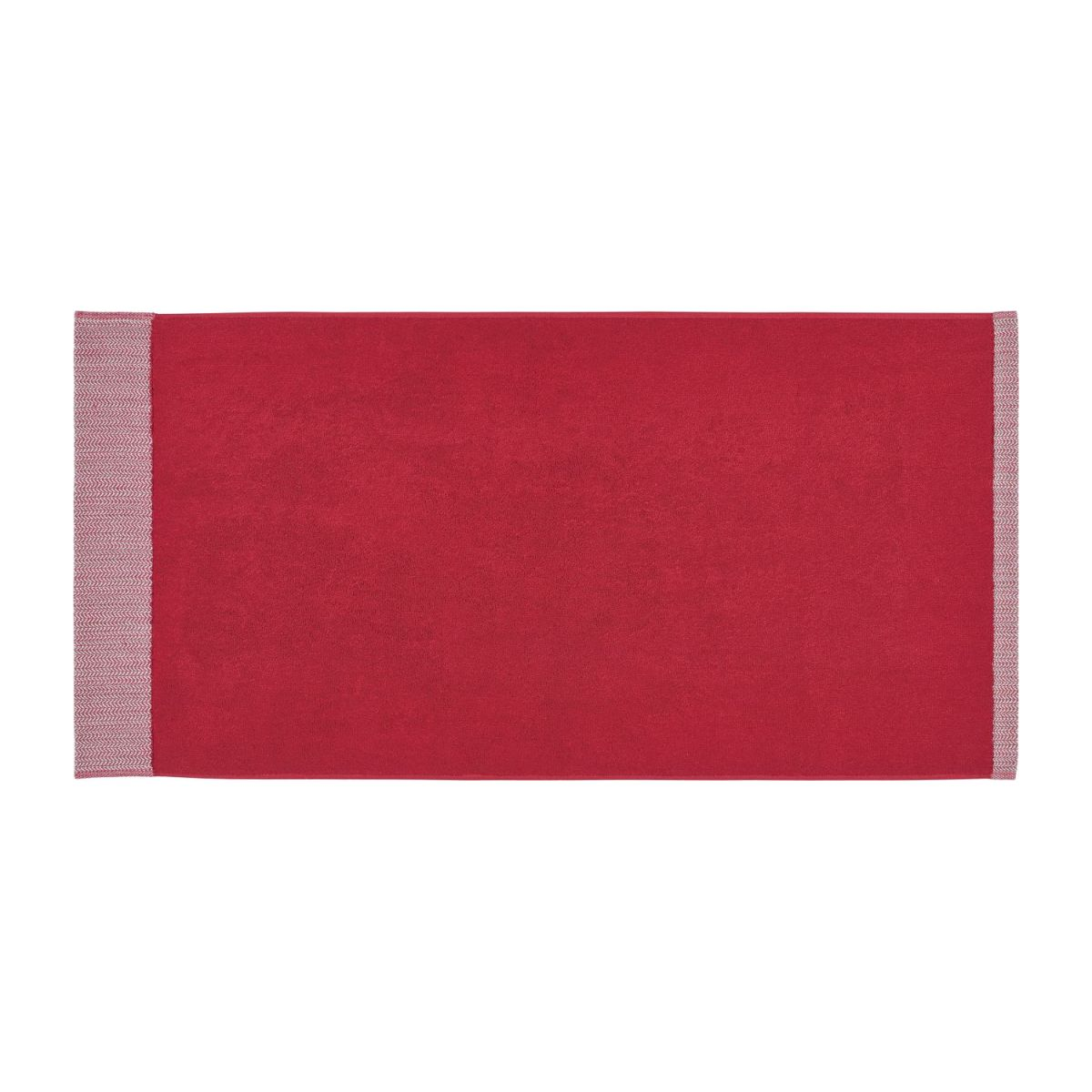 Bath towel made of cotton 50x100, red n°2