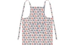 Apron, with patterns